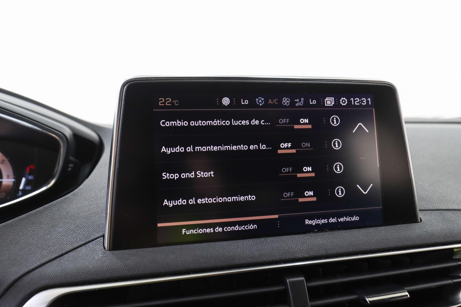 Peugeot 3008 ayudas a la conducción