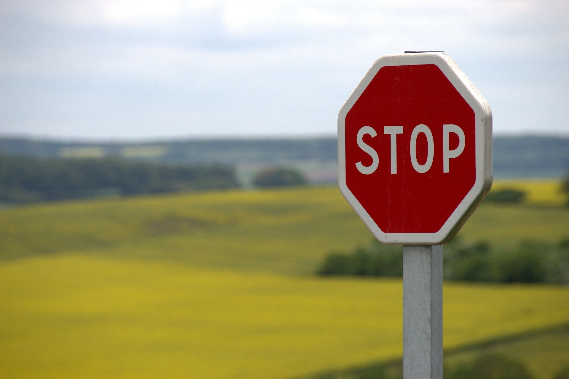 Significado señales de tráfico stop