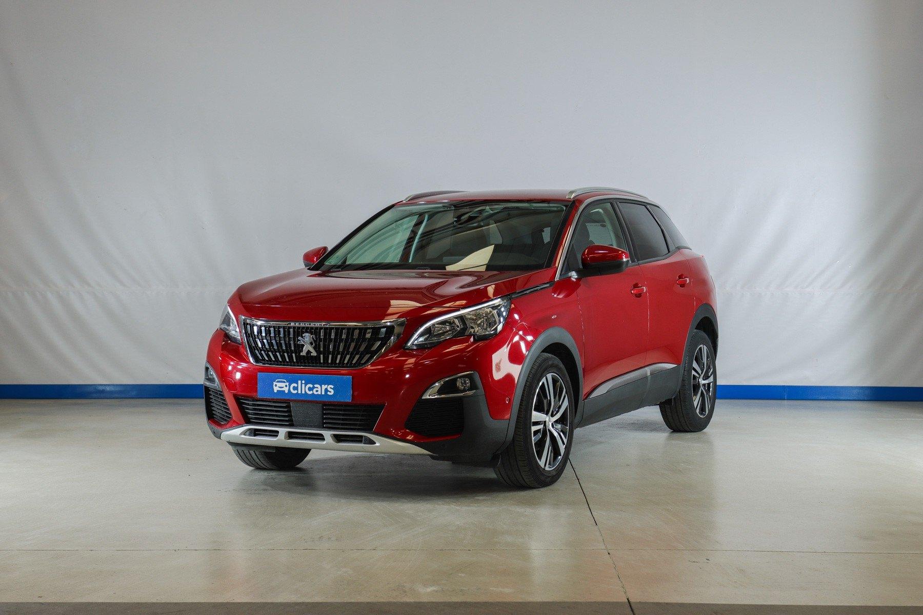 Peugeot 3008 color rojo ultimate